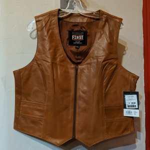First Mfg Savannah Leather VEST | R1403
