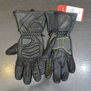 Ganka Short Gauntlet Leather GLOVES | 26206