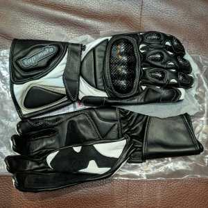 TAP-MOTO Gauntlets Leather GLOVES   26168