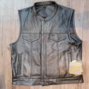 UNIK Club Leather VEST | R1406