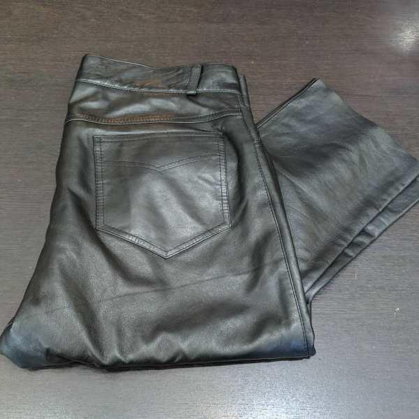 Unbranded 5 pocket Leather PANTS | 26258