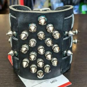 CUSTOM WRISTBAND Leather PUNK/FETISH | 26444