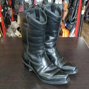 DAYTON Black Beauty Leather BOOTS   26422