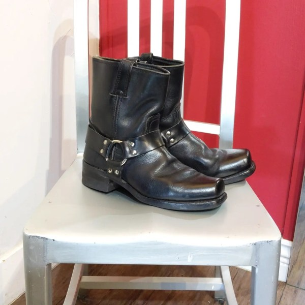 FRYE 8R Harness Leather BOOTS   26504