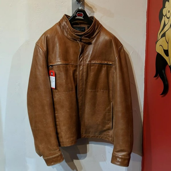 KENNETH COLE Casual Leather JACKET   26438