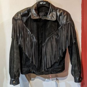 LEATHER RANCH Fringed Leather (Suede) JACKET | 26470