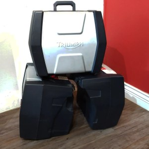 TRIUMPH Pannier & Top box Fibreglass BAGGAGE | 26510
