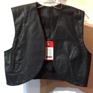 UNBRANDED Cropped Leather VEST | 26458