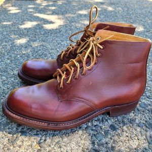 VINTAGE Service Leather BOOTS | 26477