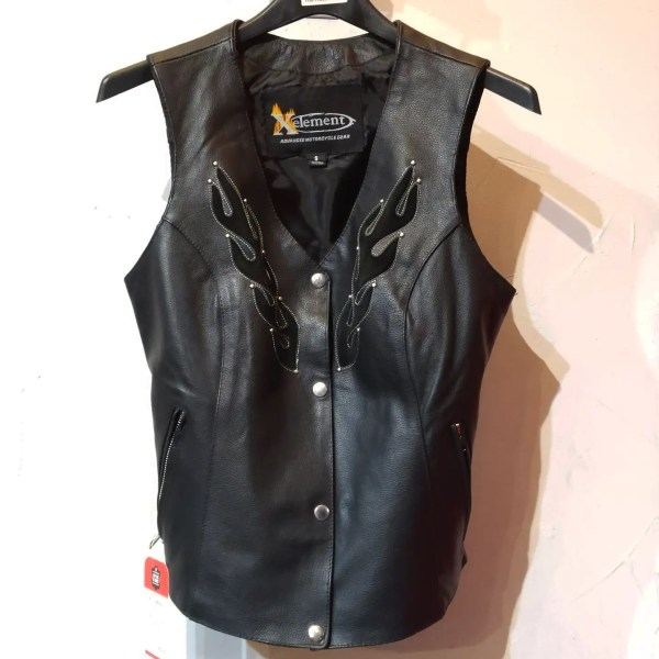 XELEMENT Fitted Leather VEST   26459