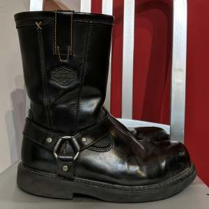 HARLEY DAVIDSON Safety Leather BOOTS   26705
