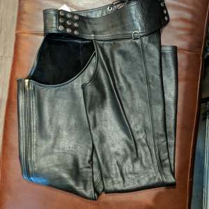 Mac's Leather BAR Leather CHAPS | 26582