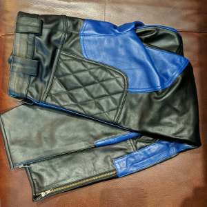 QUALITY Riding Leather PANTS   26586