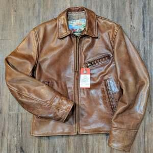 AERO Half Belt Leather JACKET | 26885