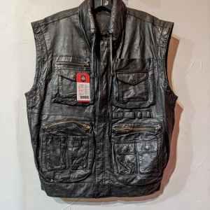 LEGODD Photographer Leather VEST | 26760