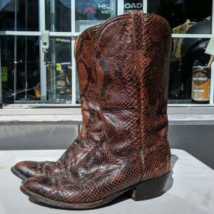 LUCCHESE Western Leather BOOTS | 26786