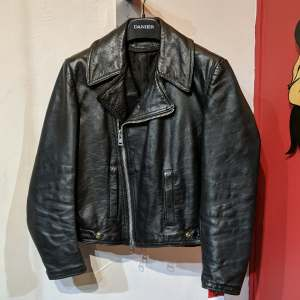 VINTAGE Biker Classic Leather JACKET | 26978