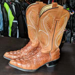 BONANZA Western Leather BOOTS   27319