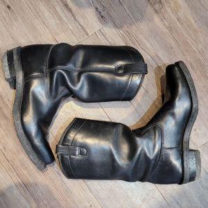 DAYTON Black Beauty Leather BOOTS   27248