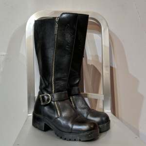 HARLEY DAVIDSON Riding Leather BOOTS   27140