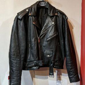 UNBRANDED Biker Classic Leather JACKET | 27125
