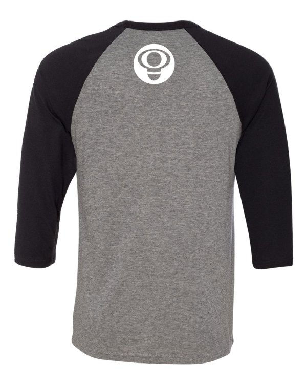 Inspector - Unidad Cerveza y Ska raglan 3/4 sleeve t-shirt back