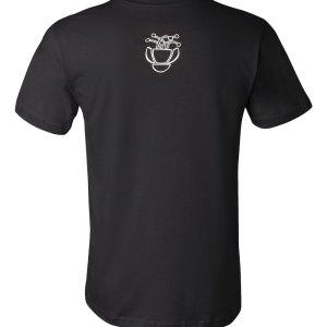 Bohemia Suburbana - Sombres en el jardin t-shirt