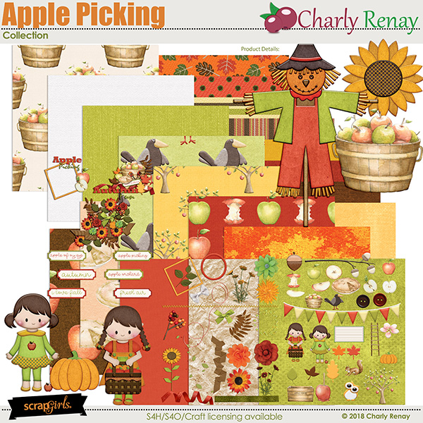 Apple Picking Collection By Charly Renay