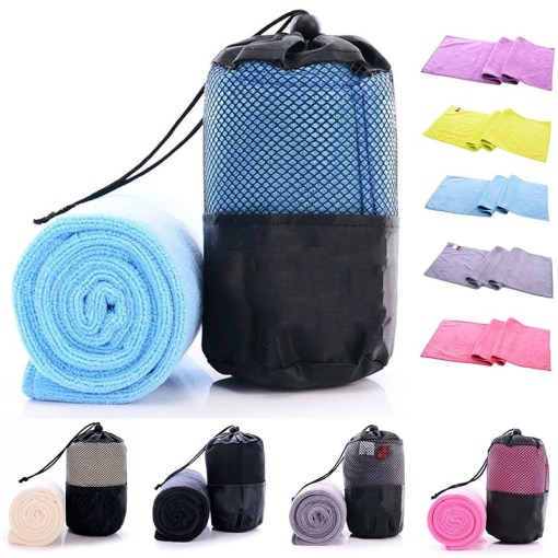 Quick Drying Gym Towel with Mesh Bag