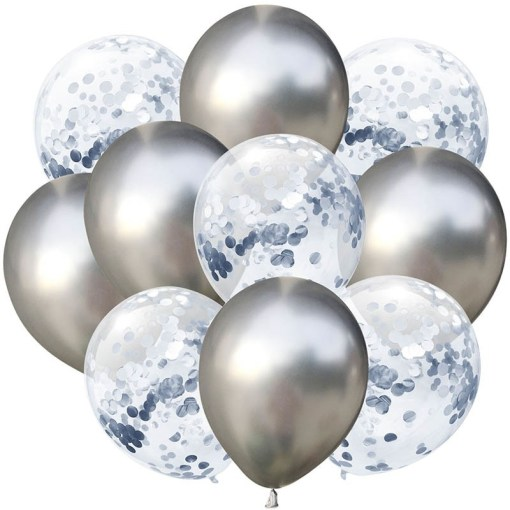 Latex Metallic Party Balloons