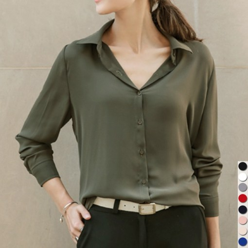 Women business casual shirt