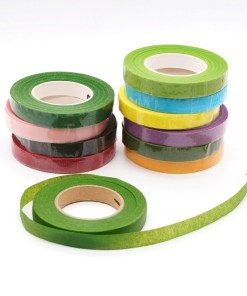 Floral stem tape for bouquets