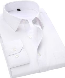 Business Casual Mens Shirt Long Sleeve