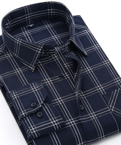 Flannel Checkered Men's Shirt