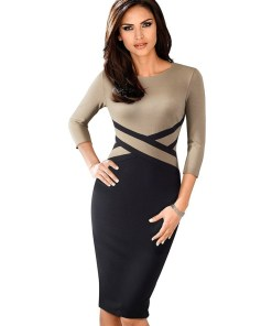 Womens Sheath Dress Business Casual