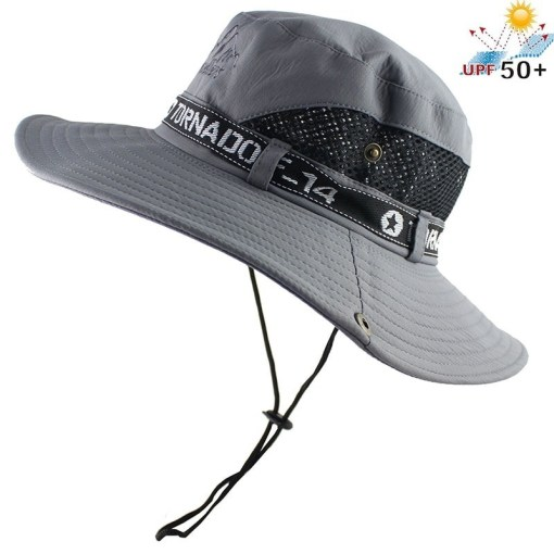 Wide Brim Bucket Hats UV protection Flap