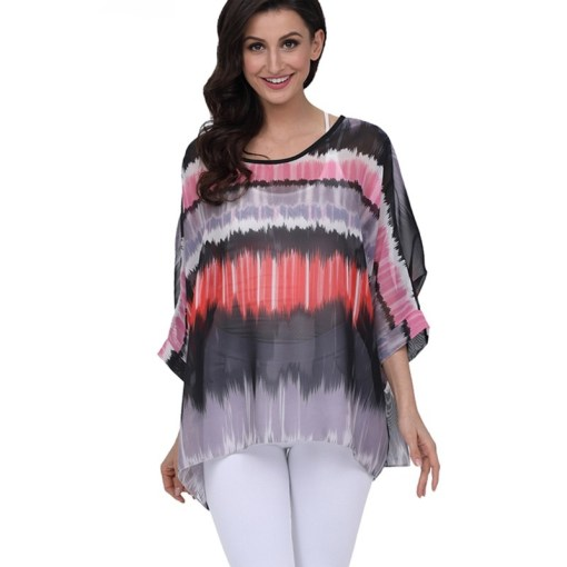 Womens Chiffon Blouse Casual
