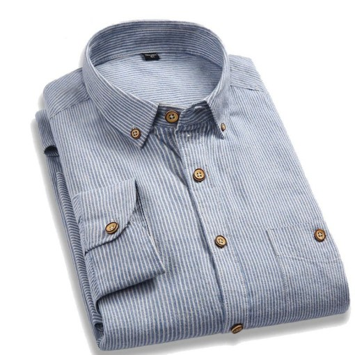 Casual Mens Shirts Long Sleeve