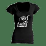 maglia nera donna ferro
