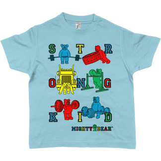 STRONGKID RGBY Tee [Sky Blue]