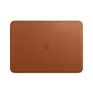 housse en cuir pour macbook air et macbook pro 13 pouces havane