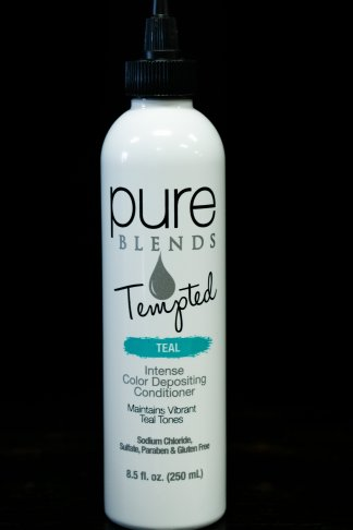 Pure Blends Tempted Intense Color Depositing Conditioner – Teal | Studio Trio Hair Salon