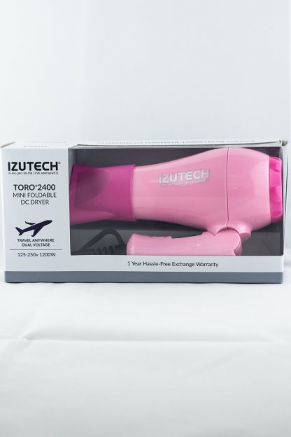 IZUTECH Toro Mini Dual Voltage Foldable Dryer | Studio Trio Hair Salon