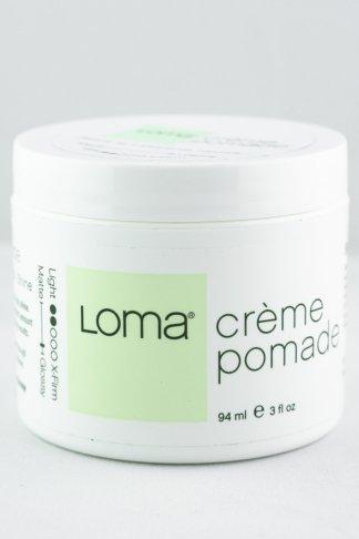 Loma Crème Pomade   Medium Hold Pomade   Studio Trio Hair Salon