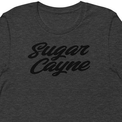 t-shirt sugar cayne grey