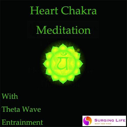 Heart Chakra Guided Meditation with Theta Wave Music