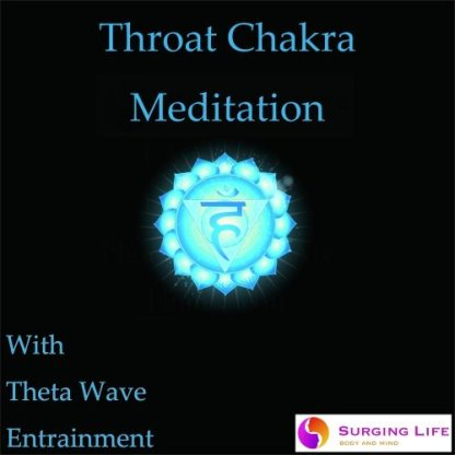 Throat Chakra Guided Meditation with Theta Wave Music