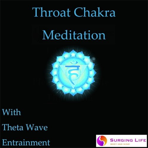 Throat Chakra Guided Meditation with Theta Wave Music