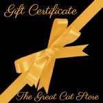 Gift cards at The Great Cat