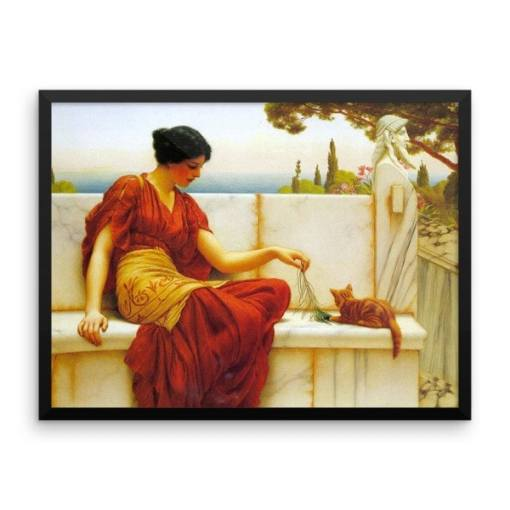 John William Godward, Cat Artists Starting with G